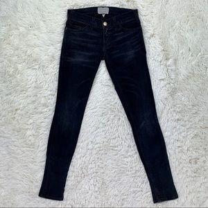 Current Elliott Black Skinny Jeans
